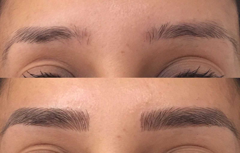 Microblading Client 1