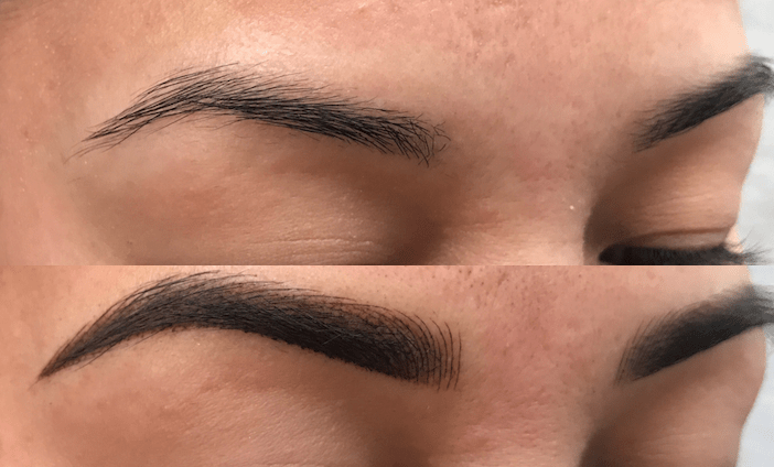 Microblading Client 2