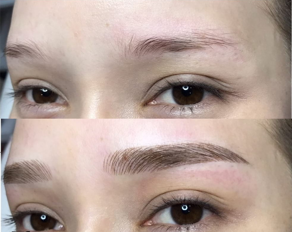 Microblading Client 3