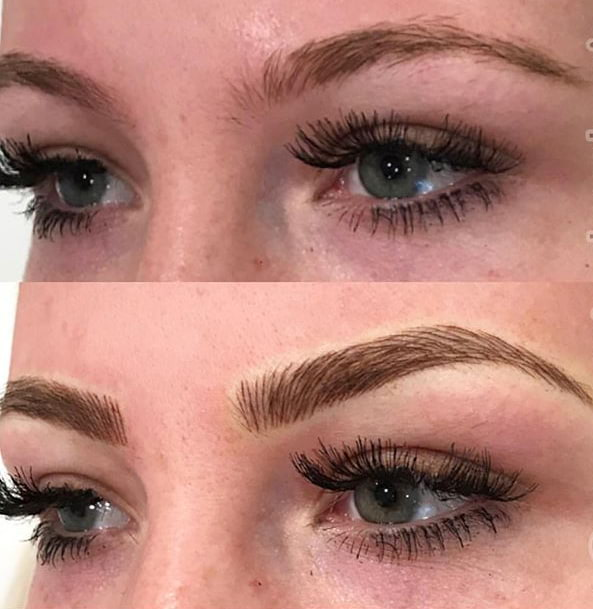 Microblading Client 4