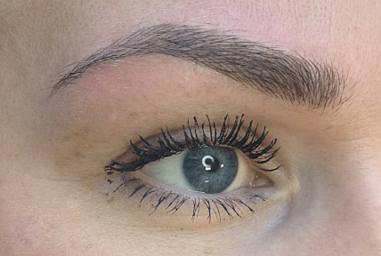 Microblading client review