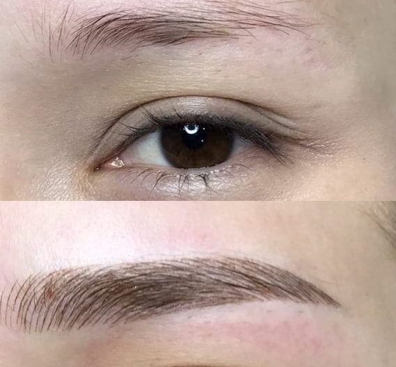 Microblading client review 1